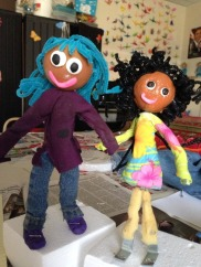 my finish puppets