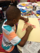 coloring a volcano