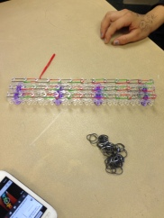 rubberbands and loom kit