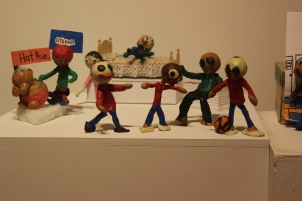 claymation display