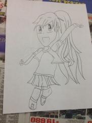 finish drawing