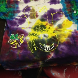 painting on shirts