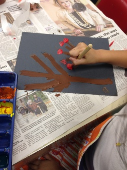 using stencil for dots