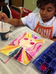 using paint