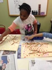 painting cherries